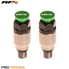 RFX Fork Air Bleeders Kayaba/Showa Green CRF CR YZ YZF KX KXF RM RMZ 125/250/450
